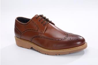 UGG Mens Fashion Shoes Wingtip Chestnut