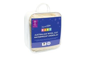 Protect-A-Bed®Australian Wool Cot Waterproof Underlay