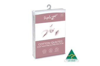 Triple Z Cotton Quilted  Mattress Protector