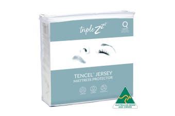 Triple Z Tencel Jersey Waterproof  Mattress Protector