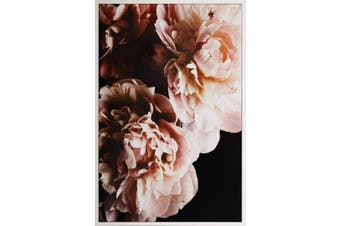 120x80cm Framed Canvas Print -Blossoming