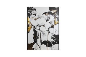 Cooper & Co. Flower Canvas Framed Wall Art