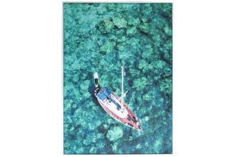 Cooper & Co Framed Wall Art Boat 140x100 cm