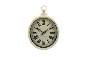 Cooper & Co. Olivia Traditional Silent Movement Wall Clock 32 CM