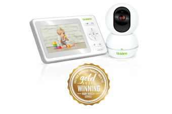 """Uniden - BW4151 - 4.3"""" Digital Wireless Baby Monitor  With Pan & Tilt Camera"""