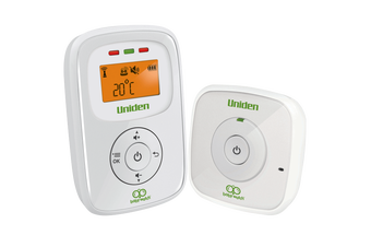 Uniden BW130 - Audio Baby Monitor with Room Temperature