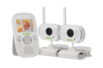 """Uniden - BW 3002 -  2.3"""" Digital Wireless Baby Video Monitor - with 2 Cameras"""