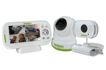 "Uniden BW 3451R+1 4.3"" Digital Wireless Baby Video Monitor Pan & Tilt"