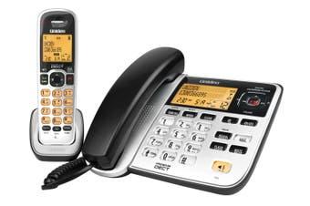 Uniden DECT 2145+1 - Premium DECT Digital - 2 in 1(Corded + Cordless )  Phone System
