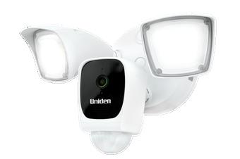 Uniden - App Cam Floodlight - Security Camera & Floodlight in One