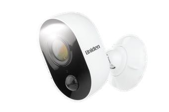 Uniden - App Cam Spotlight+  Smart Security WiFi FULL HD (2MP) Camera and Spotlight in 1