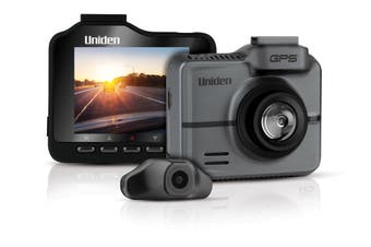 Uniden IGOCAM65R - 2.3K Smart Dash Cam with Rear Camera + Speed Camera Warnings