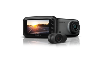 Uniden iGOCAM70R - 2.7K Smart Dash Cam with Rear Camera + Smartphone App (WiFi)