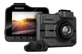 Uniden IGOCAM85R - Ultra 4K Smart Dash Cam with Rear Camera + Smartphone App (WiFi)