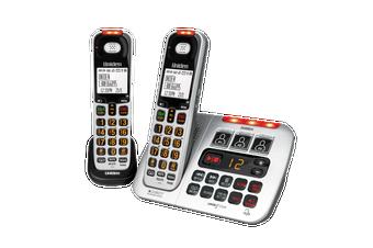 Uniden SSE45 + 1 - Sight &  Sound Enhanced Cordless Digital Phone System