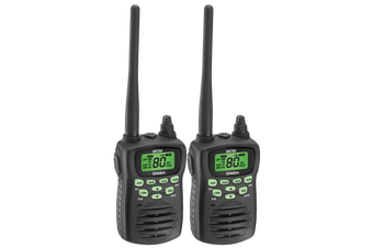 Uniden UH750-2 - 5 Watt UHF Waterproof CB Handheld Radio