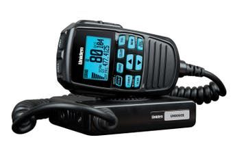 Uniden UH8060S Mini UHF CB Mobile - 80 Channels,  Remote Speaker MIC, Large LCD