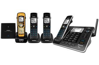 Uniden XDECT8355+ 3WPR - XDECT¨ Digital Tech + Bluetooth, Power backup +Waterprf