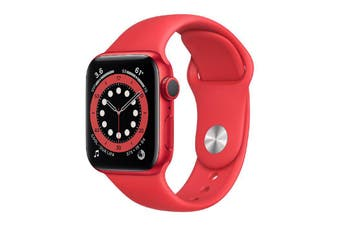 Apple Watch Series 6 GPS 40mm (PRODUCT) RED Aluminum Case with RED Sport Band