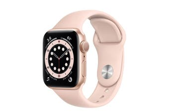 Apple Watch Series 6 GPS 40mm Gold Aluminium Case Pink Sand Sport Band