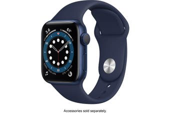 Apple Watch Series 6 GPS 40mm Blue Aluminium Case Deep Navy Sport Band