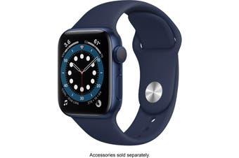 Apple Watch Series 6 GPS 40mm Blue Aluminium Case Deep Navy Sport Band