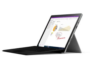 Microsoft Surface Pro 7 I5 8+128GB Platinum with Type cover (with Black Type cover)
