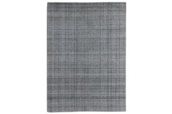 Laurel Gray Blue Hand Tuffted Wool rug- 160 x 230cms