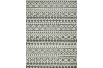 Natural Mushroom Handmade Flat-Weave Rug