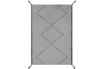 SACHI Hand Knotted Moraccan Style Rug -160x230cm
