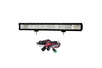 LIGHTFOX 28Inch Philips LED Light Bar Flood Spot Combo Offroad Driving Lamp 4WD 4x4