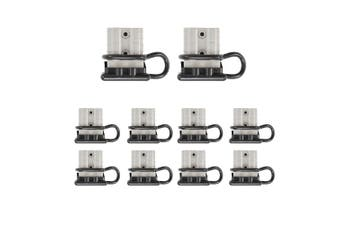 ATEM POWER 10x Anderson Style Plug 50 Amp with Dust Cap 12-24V 6AWG DC Connector