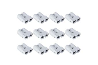 ATEM POWER 12Pcs Anderson Style Plug Connectors 50 AMP 12-24V 6AWG DC Power Tool