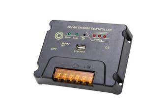 ATEM POWER 20A MPPT Solar Charge Controller PV Solar Panel Battery Regulator 12V/24V W/ USB