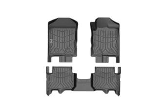 KIWI MASTER 3D TPE Floor Mats Liner Fit Ford Everest 2015-2020