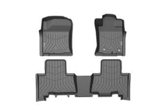 KIWI MASTER 3D TPE Floor Mats Liner Fit Toyota Landcruiser Prado 150 2013-2020