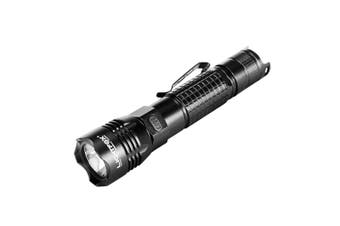 LIGHTFOX LED Tactical Flashlight Torch CREE L2 Chip USB Rechargeable Battery