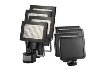 ATEM POWER 4x 120 LED Solar Sensor Lights Security Motion Detection Light Garden Flood