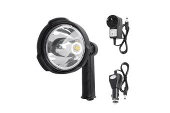 LIGHTFOX 25W CREE Handheld Spot Light Rechargeable LED Spotlight Hunting Shooting 12V