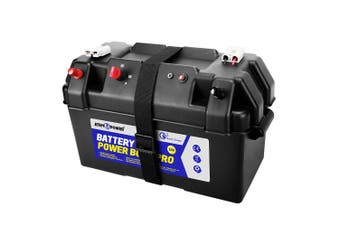 ATEM POWER Battery Box 12V Portable Deep Cycle AGM Large Marine USB Quick Charge