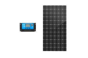 ATEM POWER 250W 12V Mono Solar Panel Kit Caravan Camping Power Battery Charging Home