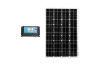 ATEM POWER 130W Solar Panel Kit Mono Generator Caravan Camping Power Battery Charging 12V
