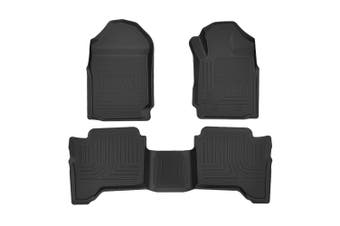 KIWI MASTER 3D TPE Floor Mats for Ford Ranger Wildtrak Raptor PX PX2 PX3 2011-ON