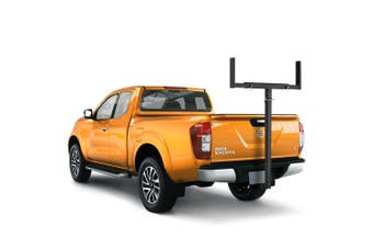 SAN HIMA Tow Bar Ladder Rack Roof Rack Canoe/Kayak Carrier for Nissan Navara