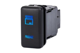 LIGHTFOX LED Fridge Light Push Rocker Switch Suitable for TOYOTA Hilux Landcruiser OEM