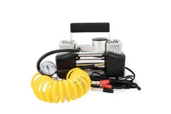 ATEM POWER 12V Air Compressor Tyre Inflator 4WD Car Truck Compact 85L/min Portable