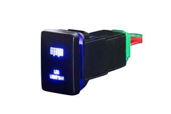 LIGHTFOX Push Switch LED Light Bar Car Suitable for TOYOTA Prado Hilux Landcruiser
