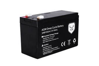 ATEM POWER 12V 9AH AGM SLA Battery Deep Cycle Dual Fridge Solar Power 12 Volt