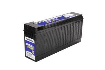 ATEM POWER 12V 120Ah AGM Deep Cycle Battery Slim Deep Cycle Portable 4WD Sealed Solar Marine