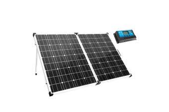 MEGAVOLT 12V 250W Folding Solar Panel Kit Caravan Camping Power Charging 250Watt Mono
